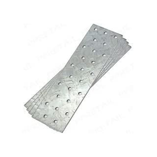 10 pcs. FLAT STEEL MENDING REPAIR CONNECTOR JOINING PLATE 160MM X 60MM