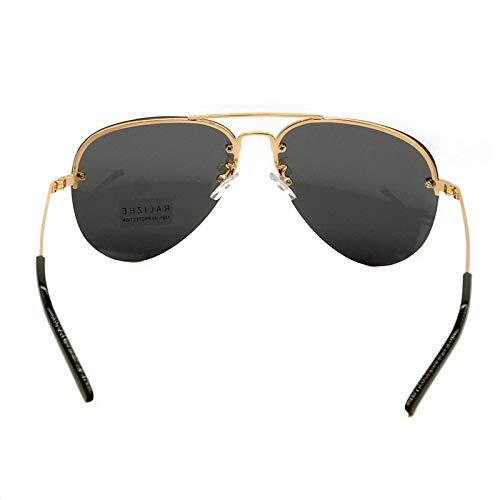 WBAHJMens Womens Aviation Polarisierte Randlose Sonnenbrille Pilot Sports Sun Glasses UV400 Driving
