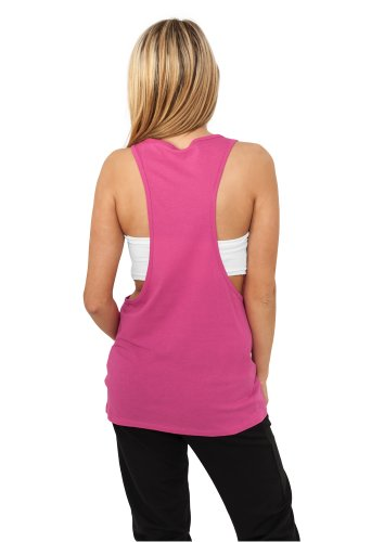 Urban Classics - T-Shirt De Sport Femme Fuchsia