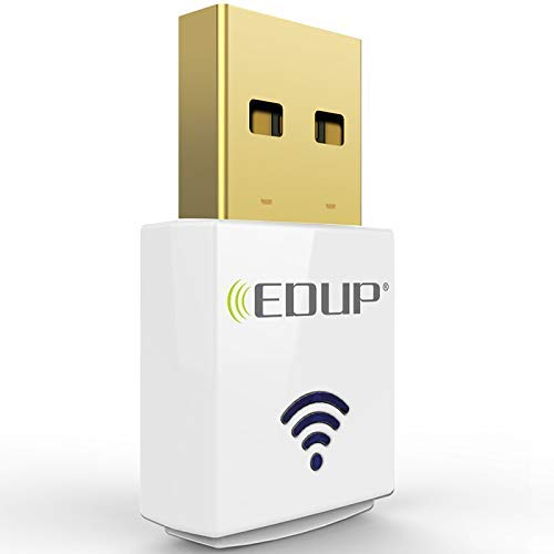 EDUP EP-AC1619 Wireless Mini 11AC 600Mbps Dual Band Wireless Adapter WI-FI  USB Mini Adapter 802 11AC 2 4G/5 8G