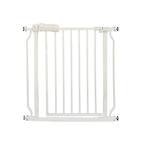 MAZHONG Bettgitter Kindersicherheit Treppen Sicherheitstür Kinder Geländer Haustier Hund Gitter Zaun Isolation Tür -74-86cm