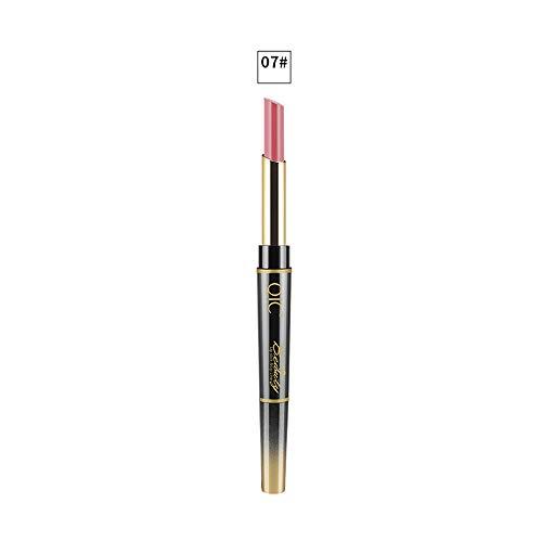 Precioul Doppel-End Lasting Lipliner Wasserdicht Lip Liner Stick Bleistift Multifunktions-Lippenstift Doppelkopf-Lippenstift -