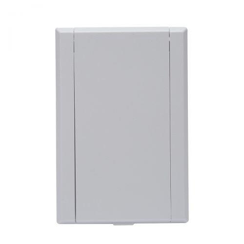 Saugdose rechteckig VacuValve Farbe Weiss