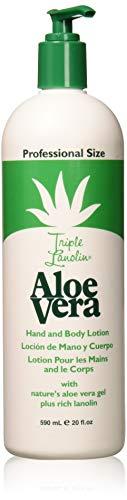 Vienna Triple Lanolin Alo 20oz Hand & Body Lotion Pump by Triple Lanolin -