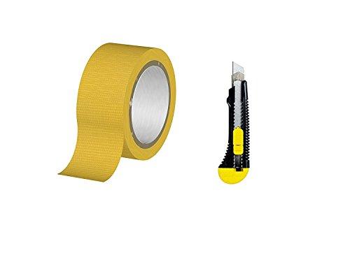 Nastro di Tessuto adesivo resistente Panzer Band (giallo)