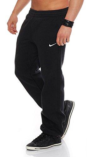 Nike club - tuta da jogging in pile da uomo, uomo donna, nike club fleece jog pant, black, s