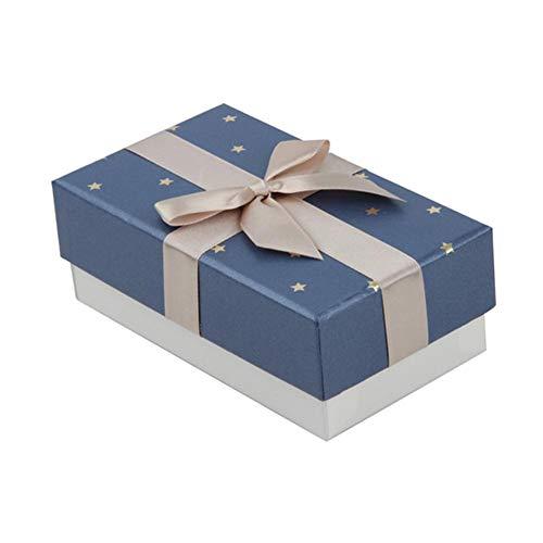 LAAT 1PC Geschenkkartons mit deckel Candy-Boxen Deko Geschenkboxen Geeignet für alle Arten von kleinen Geschenken/15.5 * 9.6cm/Verfügbar in einer Vielzahl von Stilen (Kleine Geschenk-boxen Mit Deckel)