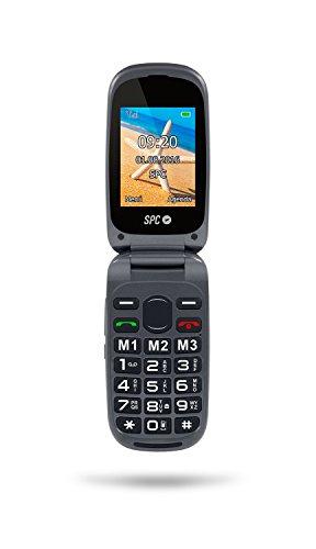 Foto de SPC Harmony - Teléfono móvil (Dual SIM, Números y letras grandes, 3 memorias directas, 5 números SOS, cámara de fotos), Negro