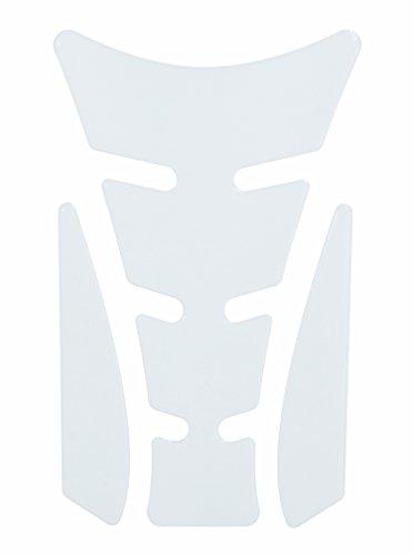 Tankpad 3D 501860 Transparent Durchsichtig - lässt den Lack klar durchscheinen - universeller Tank-Schutz passend für Motorrad-Tanks