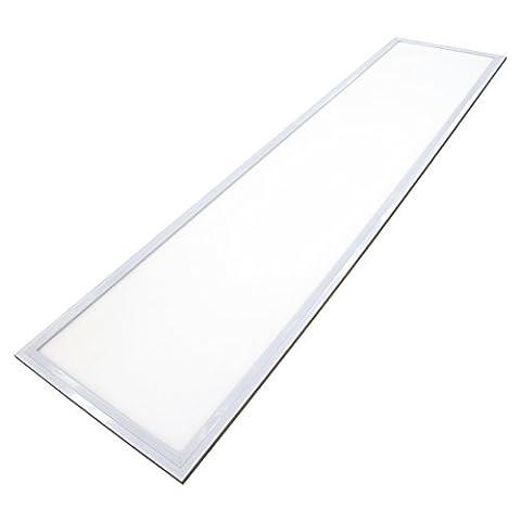 Ledus LED haute efficacité Panneaux clair 40 W 1200 x 300 (blanc froid)-Éclairage de qualité commerciale Energy Saver Home Lighting-Garantie 5 ans