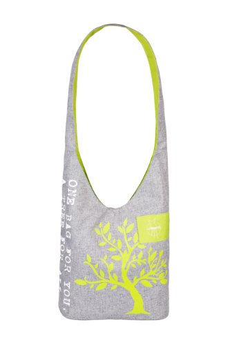 Lässig Green Label Shopper Einkaufsshopper Einkaufstasche Umhängetasche zum Einkaufen/Sport/Freizeit, mélange tender -