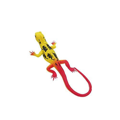 Sharplace Lebensecht Gummi Eidechse Modell Kinder Pädagogisches Spielzeug - Orange