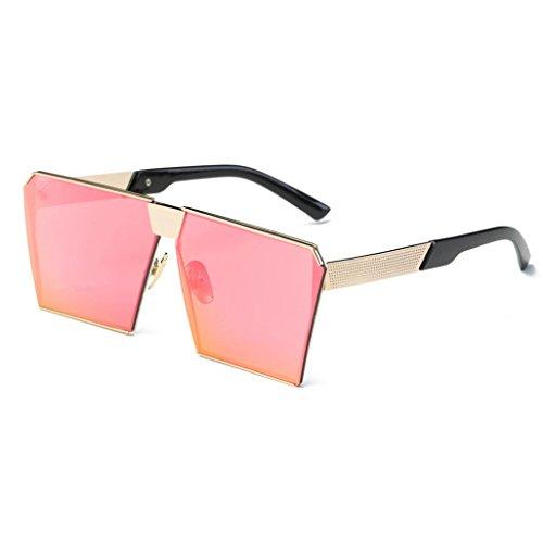 OverDose OverDose Unisex Sommer Frauen Männer Moderne Modische Spiegel Polarisierte Katzenauge Sonnenbrille Brille Damensonnenbrille Herrensonnenbrille (H)