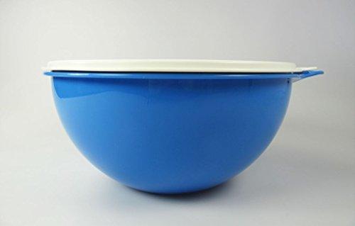 TUPPERWARE Rührschüssel Maximilian 7,5 L blau Maxima Jumboschüssel B04 Salatbar