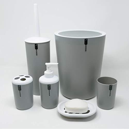 WENKO 20339100 Ablage Candy White breit Kunststoff Polystyrol Bad Schale
