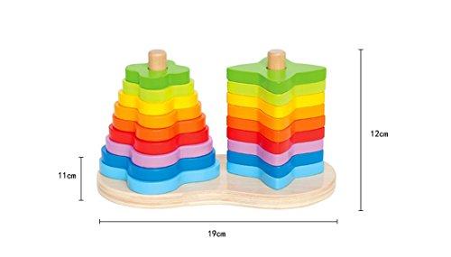 Hape E0412-Regenbogen-Abacus, Multicolour