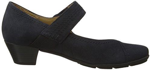 Gabor Shoes (25.410.17), Escarpins Bout Fermé Femme Bleu (Dark Blue Lavato)