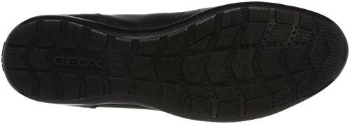 Geox Symbol A, Oxford Chaussures Homme Noir (noir)