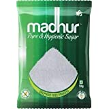 Madhur Pure and Hygienic Sugar, 1kg Bag