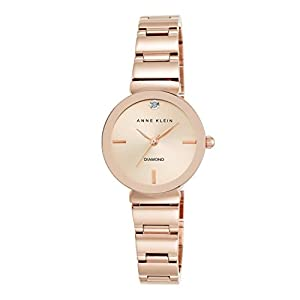 Anne Klein Madison Reloj de cuarzo para mujer con esfera analógica de