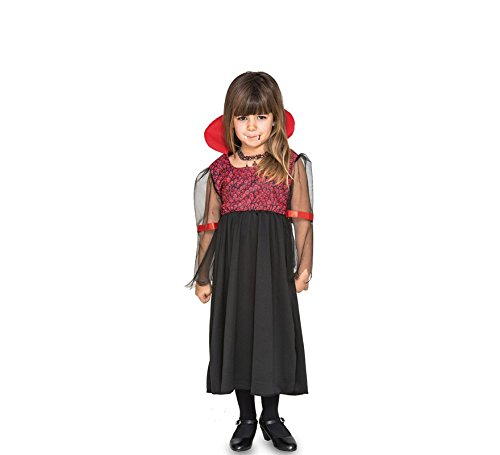 Fyasa 706469-t00 Vampire Girl Fancy Dress Kostüm, Klein