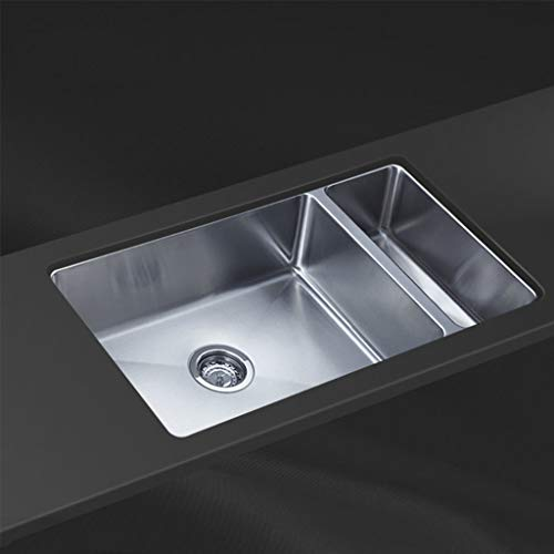 Évier de grande capacité d'évier de cuisine en acier rapide 304 à double cuve en acier inoxydable 304 Meubles-lavabos