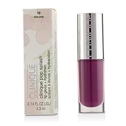 Clinique Pop Splash Lip Gloss + Hydration -  19 Vino Pop 4.3ml/0.14oz
