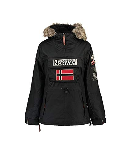 Geographical Norway - Parka Femme Boomera Noir-Taille - 1