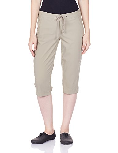 Columbia Women's Anytime Outdoor Capri Pants, -tusk, 10x18 -