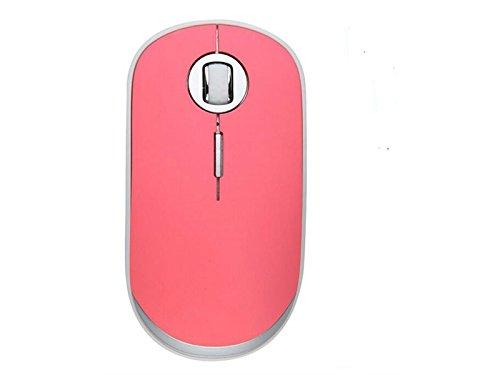 Preisvergleich Produktbild JxucTo Kabellose Maus,  ultradünne,  schnurlose Mini-schnurlose Maus für Laptop,  Computer,  (Pink)