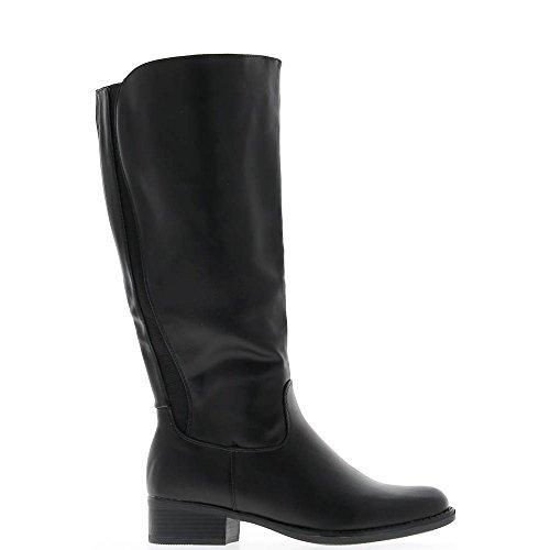 Stivali con tacco 4cm pelle Rod elasticizzata
