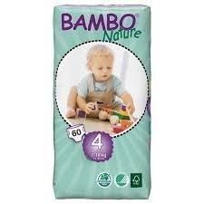 Pañales Bambo Nature talla 4 (7 a 18 kgs)