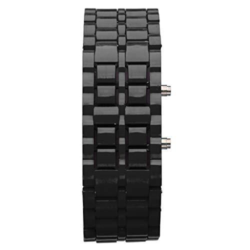 Nuevo Iron Samurai Metal Pulsera Reloj LED Relojes Digitales Hora Hombres Mujeres Bonitos Relojes Elegantes Relojes clásica de Todo el Mundo es la elección de Todos