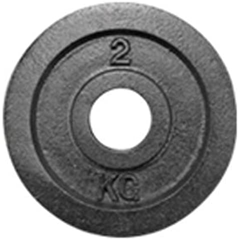 York Standard Kilo Olympic Plate (Uncalibrated) 2 kg by York Barbell