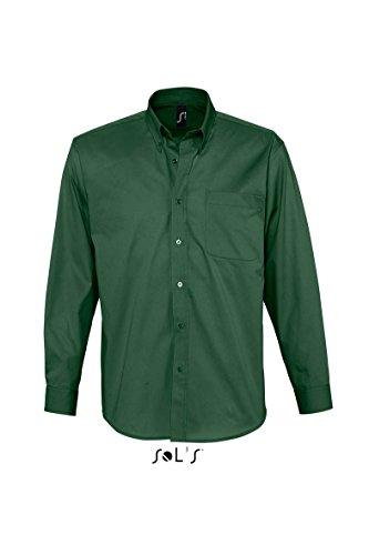 Sol di bel-Air - twill camicia Verde bottiglia
