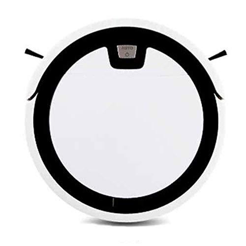 RZ-Aspirador-Robot-con-Conectividad-Wi-Fi-De-56-Cm-Aspirador-Robtico-De-Succin-Alta-Y-Adelgazante-para-Mascotas-Adecuado-para-Pisos-Duros-Y-Alfombras-Blanco
