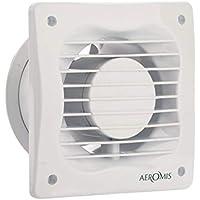 Aeromis Ventilador extractor de baño aire Color blanco 150MM*150MM*100MM
