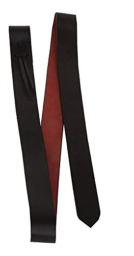 AMKA Tie Strap Sattelgurt aus weichem latigo Leder, rotbraun, ca. 3,7 cm breit x 140 cm lang zum Gurten auf der linken Seite des Western Sattels