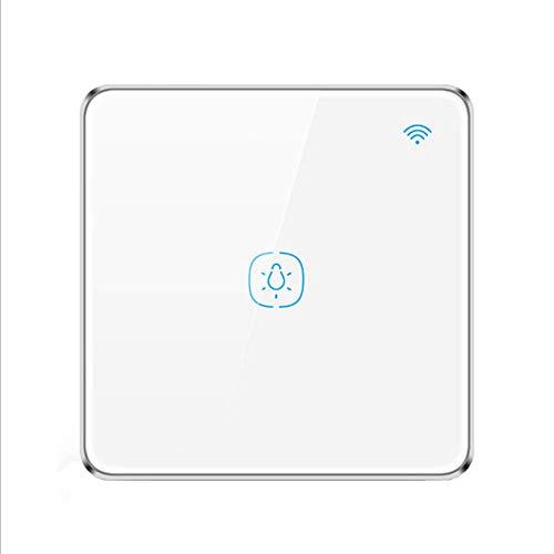 SHUAISHUAI WiFi Smart Light Switch Wanduhr Drahtlose Fernbedienung, Kompatibel Mit Alexa Und Google Home, IFTTT, Neutralleiter Erforderlich, Kein Hub Erforderlich -