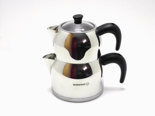Korkmaz Orbit Klein A070 Designer Teekanne Tee Kanne -