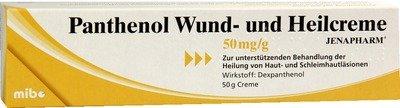 Panthenol Wund- Und Heilcreme Jenapharm 50 g