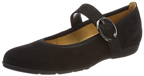 Gabor Shoes Damen Casual Geschlossene Ballerinas, Schwarz 17, 38.5 EU