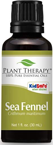 Plant Therapy Sea Fennel Essential Oil 30 mL (1 oz) 100% Pure, Undiluted, Therapeutic Grade -