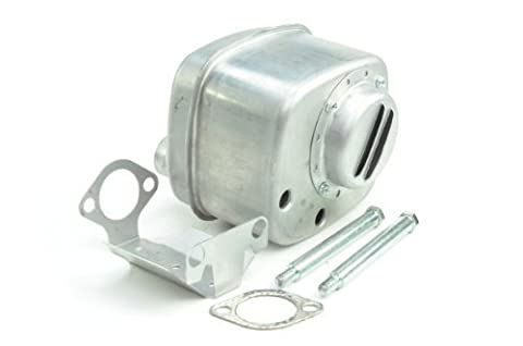 Oregon 35-022 Muffler Replacement for Briggs & Stratton 394180, 491413, 394170, 691874 by Menominee Industrial Supply, LLC