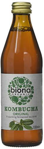 Biona Organic Kombucha Original, 330ml (Pack of 6)