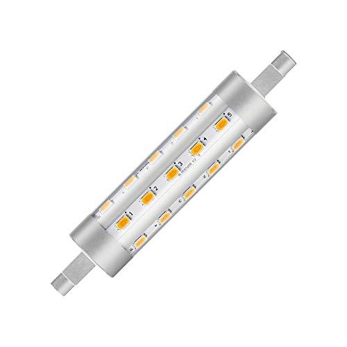 Bombilla LED R7S CorePro 118 mm 6,5 W LEDKIA, Blanc Chaud 3000k6.5 W300°, R7s, 6.50W 230.00V