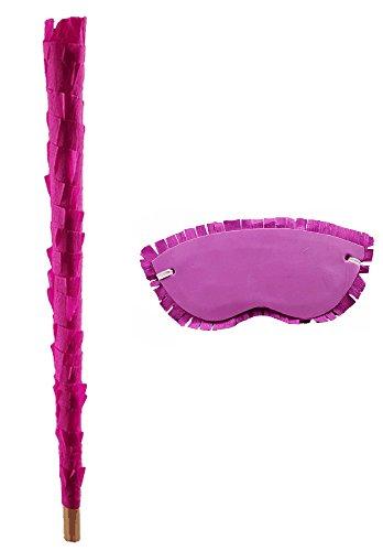 Pinata Set / Holzschläger + Maske in vielen verschiedenen Farben verfügbar