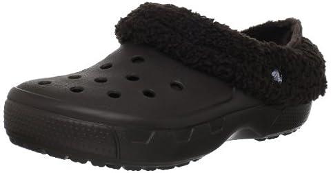 Crocs Mammoth Full Collar Sabot U, Unisex - Erwachsene Clogs & Pantoletten CR.12878, Braun (Espresso/Espresso 22Z), 41/42