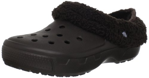 crocs Mammoth Core Full Collar 12878 55V 160   Zuecos unisex, color marrón, talla 41 42