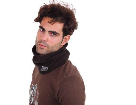 Tucano urbano 615fleece collar-double fleece collar, nero, taglia unica